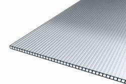 Stegplatte 6mm klar aus Polycarbonat