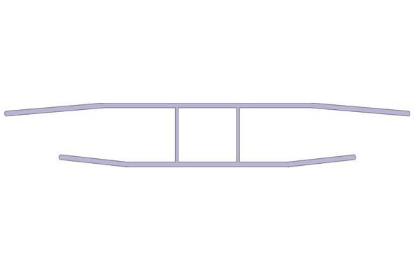 h verbindungsprofil f r stegplatten aus polycarbonat zu verbinden. Black Bedroom Furniture Sets. Home Design Ideas