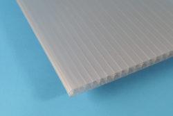 Polycarbonat Stegplatte 16 mm Fachwerk anthrazit
