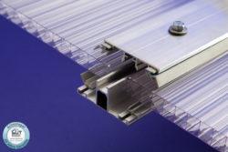 Verbindungsprofil Alu-Alu Profilsystem für 16 mm Stegplatten