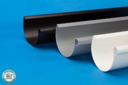 Rinne Dachrinne 100 mm Kunststoff S-Lon PVC