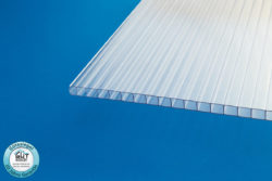 Polycarbonat Stegplatte 10 mm klar für Carport