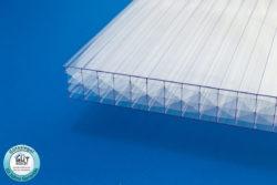 Polycarbonat Stegplatte 32 mm klar für Wintergarten