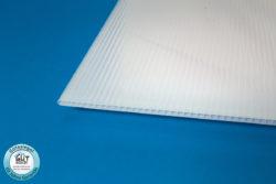 Polycarbonat Stegplatte 6 mm opal für Gewächshaus