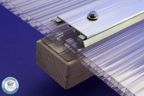 Alu Verbindungsprofil universal Stegplatten 16 mm