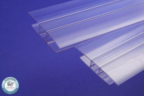 Polycarbonat H-Verbundungsprofil für Stegplatten 10 & 16 mm