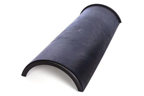 Dachfirst Kunststoff Mittelelement Schwarz