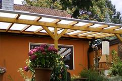 Dach inkl. Unterbau