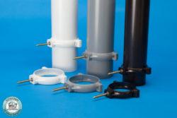 Kunststoff Rohrschellen für Fallrohr