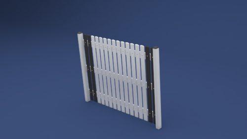 Kunststoff Zaun Victor