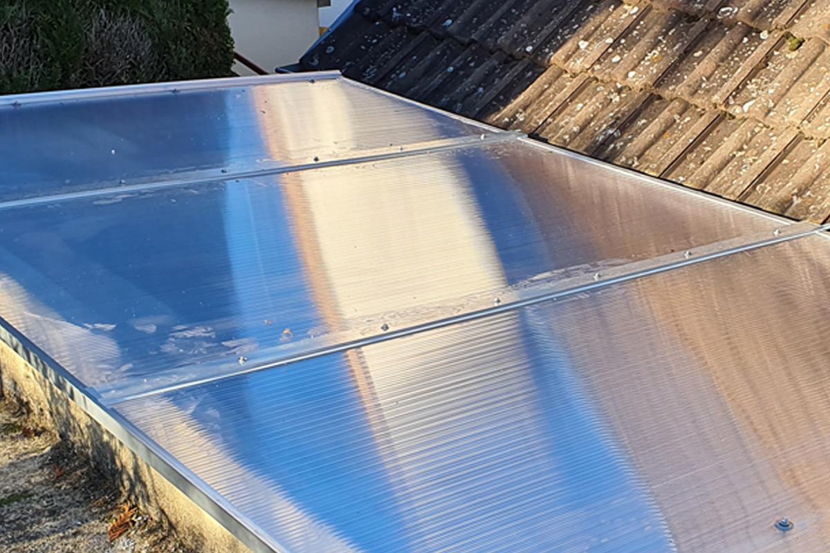 Aluminium Profil mit Schrauben zum wechseln