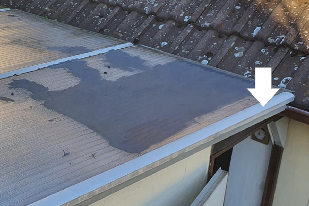 Stegplatten ohne Überstand mit Randprofil